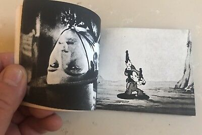 Antique Mickey Mouse - Rudolph Valentino 2-SIDED MOVING-PICTURE FLIP-BOOK
