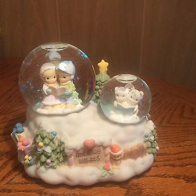 Enesco Precious Moments Musical Snow Globe