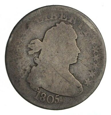 1805 Draped Bust Quarter - Circulated *1322