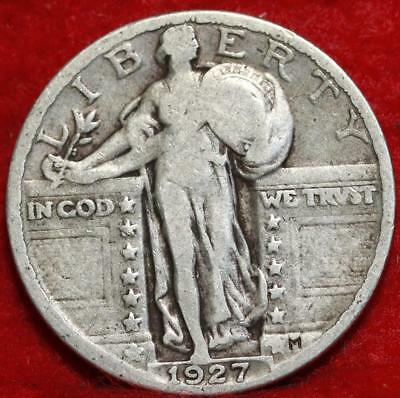 1927 Philadelphia Mint Silver Standing Liberty Quarter Free Shipping