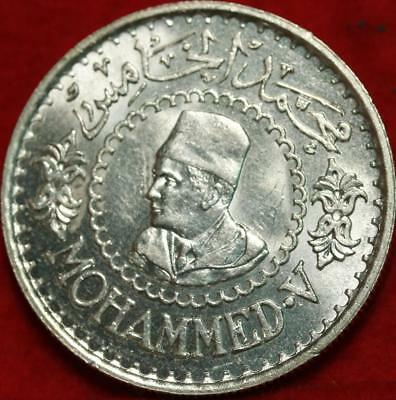 Uncirculated 1956 Morocco 500 Francs Silver Foreign Coin Free S/H