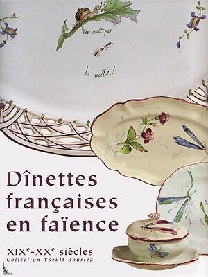 Dinettes French faience doll's tea sets 19th-20th cent.