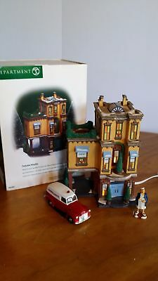 Department 56 Christmas In The City Parkview Hospital Platform House W/ Box