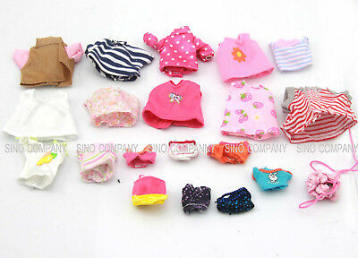 Random 3 Dresses Clothes For Sylvanian Families Calico Critters Dog Sheep Rabbit