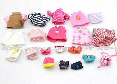 Random 5 Dresses Clothes For Sylvanian Families Calico Critters Dog Sheep Rabbit