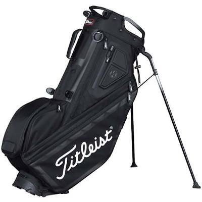 New 2017 Titleist Players 14 Stand Carry Bag Black White TB7SX14-0 14 divider