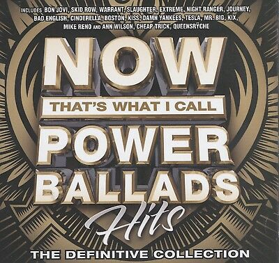 NOW That's What I Call Power Ballads Hits - Various cd