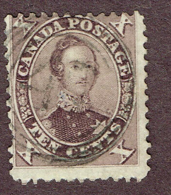 "Canada 17 Vg Son ""4?"" 4-Ring  Cancel   (Ocr13"