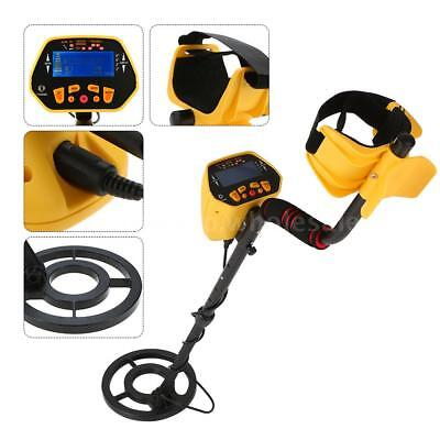Automatic Metal Detector LCD Treasure Hunter Sensitive Search Gold Digger O3M8