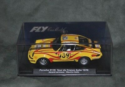 FLY 88242 PORSCHE 911R 139 TOUR OF FRANCE CAR 1970 New Boxed works on Scalextric