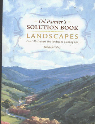 Art Book - Oil Painter's Solution Book - Landscapes