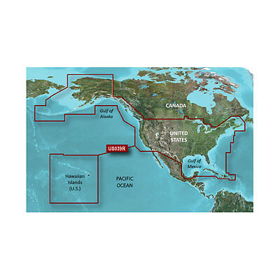 Garmin BlueChart g2 HD HXUS039R US Coast Hawaii/Alaska & Canada Chart microSD/SD
