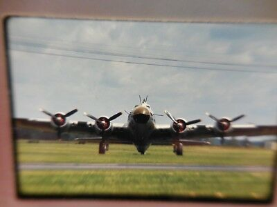 Usaf B-17 Flying Fortress Front View  Original Ektachrome Slide - Dated July 68