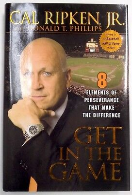 Cal Ripken Jr Signed Get In The Game Book SI