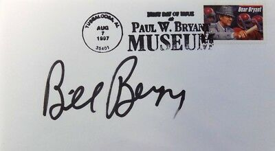 Bill Bergey Philadelphia Eagles Signed First Day Cover