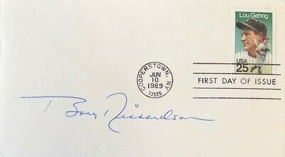 Bobby Richardson New York Yankees Signed First Day Cover