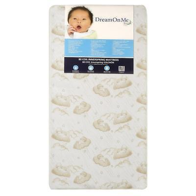 Dream On Me Twilight 5 inch 80 Coil Spring Crib and Toddler Mattress