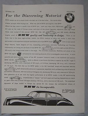 1957 BMW Original advert No.1