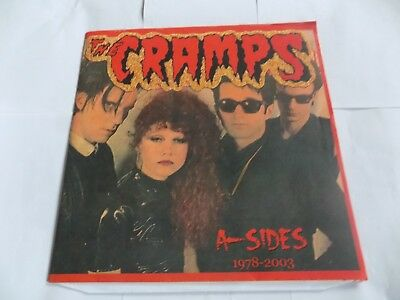 The Cramps-A-Sides (1978-2003) Classic Psychobilly Vinyl Lp  (One Record Only Th