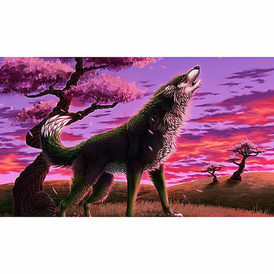 "Diamond Painting - Diamant Malerei - Stickerei - ""Wolf"" - Set - Neu (610)"