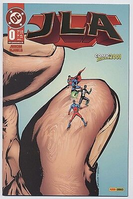 JLA (JUSTICE LEAGUE of AMERICA)# 0 GOLD-LOGO VARIANT - COMIC ACTION 2001 - TOP
