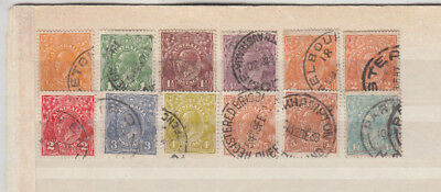 A very nice Australian George V group to Top Value