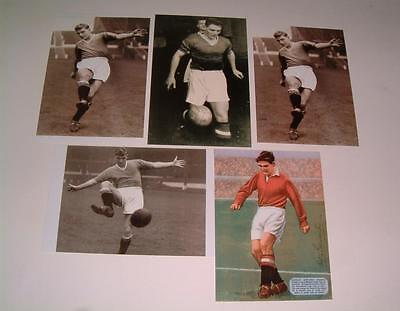 Manchester United Fc Busby Babes Legend Duncan Edwards Signed (Printed) Photos D