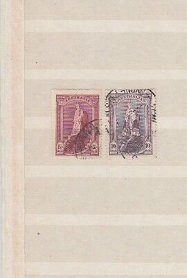 Two very nice Australian Robes issues to 10 Shillings