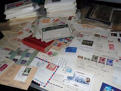 WW , / All World Postale History well 500 letters & cards from estate  (4036