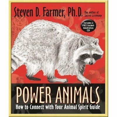 Power Animals: How to Connect with Your Animal Spirit G - Paperback NEW Steven F