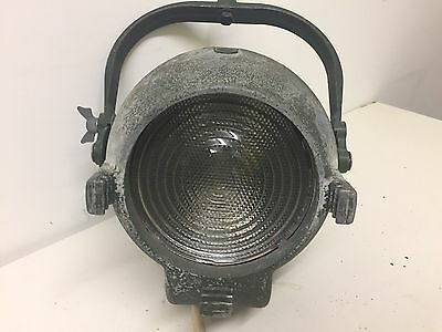 Pair Of Strand Stage  Fresnel Spot Theatre Film Light Strand Electric Patt 123