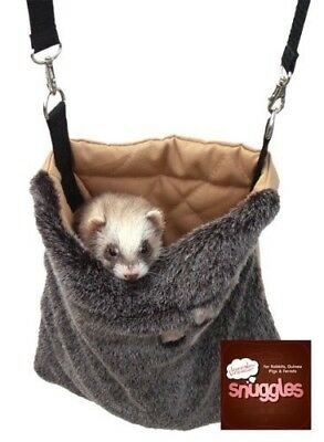 Rosewood Snuggles Snooze Carry Ferret Rat Small Animal Carrier Travel Bag