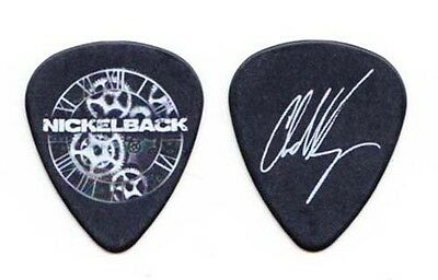 Nickelback Chad Kroeger Signature Black Guitar Pick - 2012 Tour