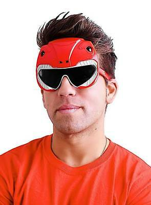 Sun-Staches Roter Power Ranger Partybrille