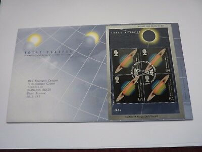 Total Eclipse 1999 FDC