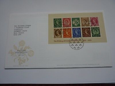 Wilding Definitives Collection 1 2002 FDC