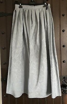 Victorian Edwardian Style Grey Skirt Size 12 Steampunk Cosplay BNWOT