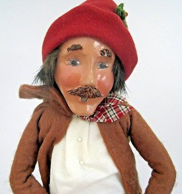 1996 Byers Choice Carolers Puppeteer Missing Puppet