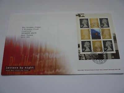 Letters by Night 2004 FDC