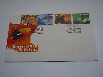 Australia Emergency Services 1997 FDC