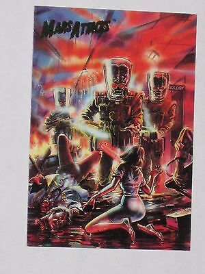 Topps Mars Attacks Trading Card 1994 Base Card NM #70 Cover For Issue #4