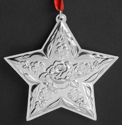 Kirk Stieff ANNUAL REPOUSSE ORNAMENT 2014 Repousse Star 10289623