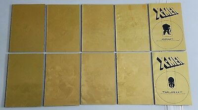 The Age Of Apocalypse Gold Foil Covers Marvel Lot Of (10) Tpb, Avg Nm