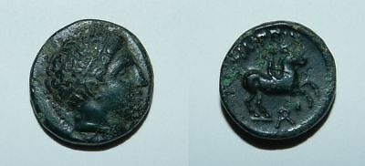 Ancient Greek : Kingdom Of Macedon - Philip Ii 359-336 B.c. Ae19 - Vf