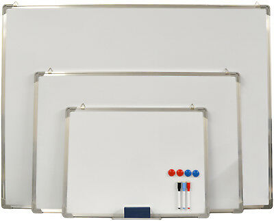 Hausen White Board Small Medium Large Magnetic Drawing Whiteboard Dry Wipe Pen