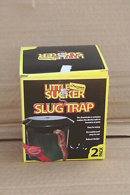 Wholesale stock job lot 2 Pack plastic garden slug traps x12 Packs