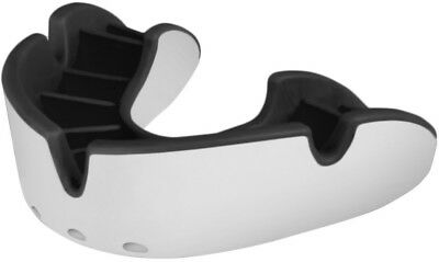 OPRO Self-Fit GEN3 Full Pack Silver Mouthguard - White