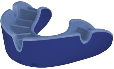 OPRO Self-Fit GEN3 Full Pack Silver Mouthguard - Blue