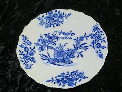 Replacement Blue & White China Saucer CAULDON CHINA for Mortlock's Oxford Street