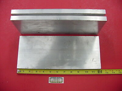 """3 Pieces 5/8""""x 5"""" ALUMINUM 6061 FLAT BAR 12"""" Long T6511 Solid Plate Mill Stock"""